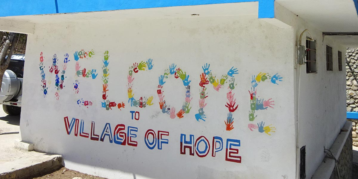 Welcome to Village of Hope Mural